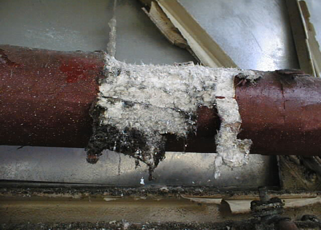 Asbestos Lagging